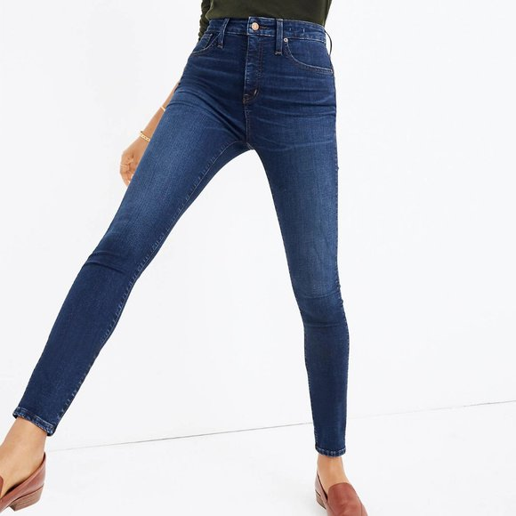 Madewell Denim - Madewell | Curvy High-Rise Skinny Jean